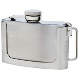 Customizable Belt Buckle Flask w/FREE Engraving