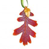 Real Leaf Xmas Ornament