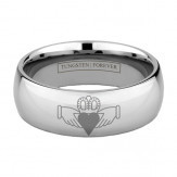 CLADDAGH RING 6MM / 8MM