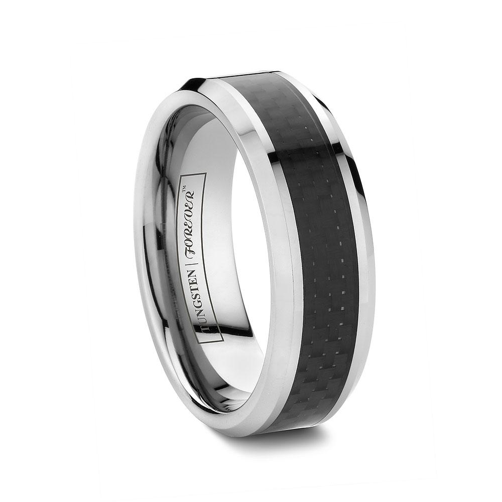 custom tungsten rings cobalt wedding bands