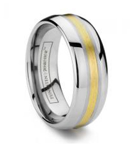 Types of Inlay Tungsten Rings