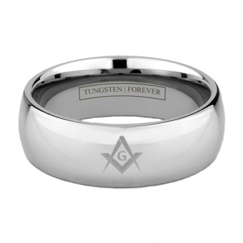 MASONIC RING 6MM / 8MM