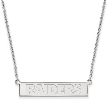 RAIDERS BAR NECKLACE