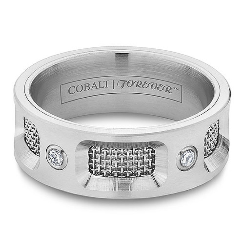 more views - Cobalt Wedding Rings