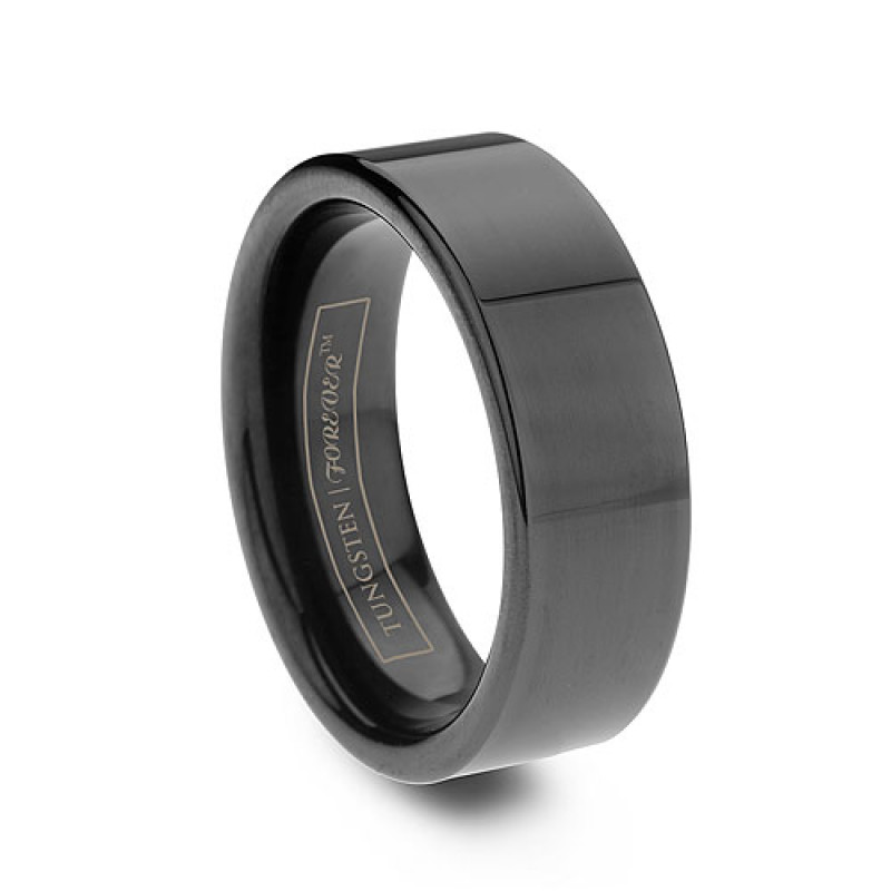 More Views Tungsten Rings Wedding Bands