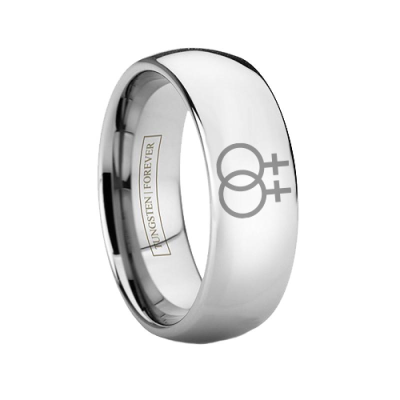 more views - Lesbian Wedding Rings