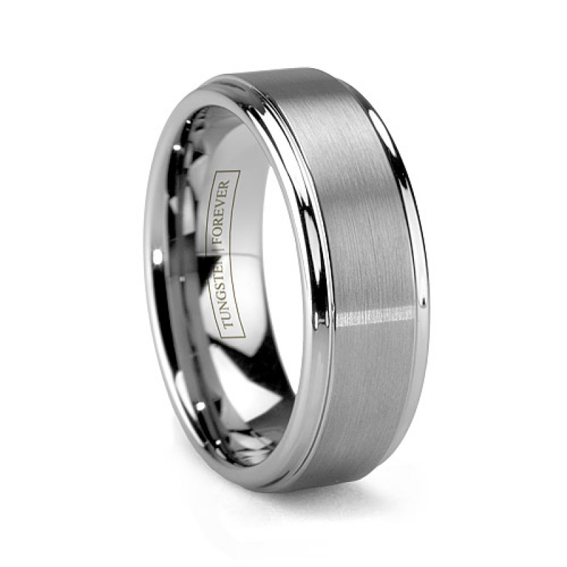 Prev Next Tungsten Rings Wedding Bands