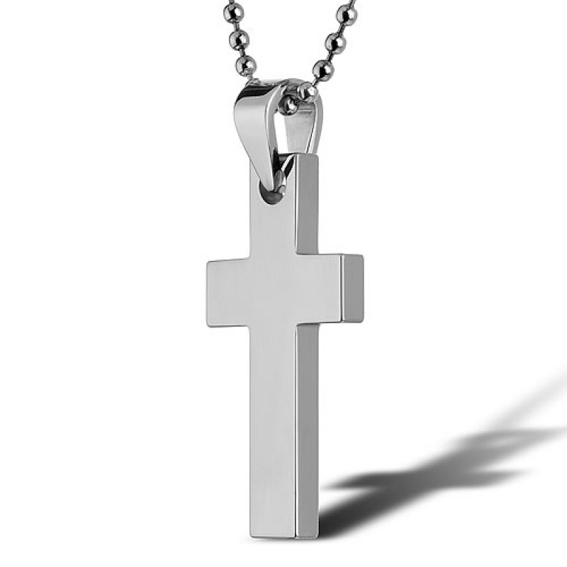 Cygnus Tungsten Jewelry Cross Pendant