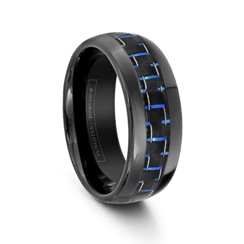 more views - Carbon Fiber Wedding Ring