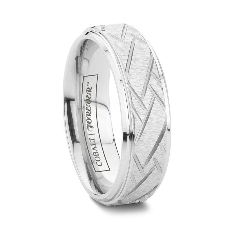 more views - Cobalt Wedding Rings