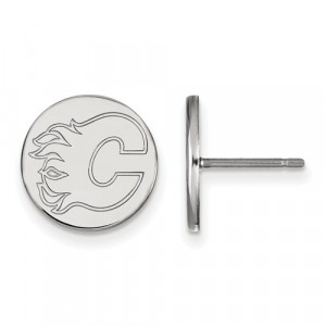 NHL FLAMES EARRINGS