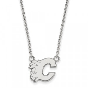 NHL FLAMES NECKLACE