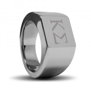 MASON - ring with FREE custom engraving