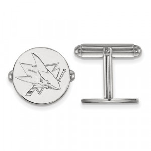 NHL SHARKS CUFFLINKS