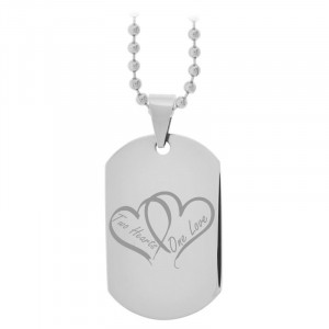 VALENTINE'S DAY SPECIAL STEEL - FREE ENGRAVING(click to engrave)