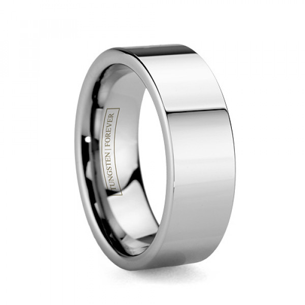 Mens Wedding Bands Tungsten.Thor 8mm 10mm