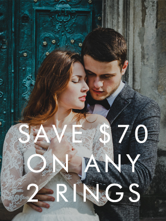 2 Matching Wedding Rings Sale